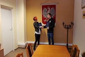 Partnerstwo z UKS ISKRA Warszawa