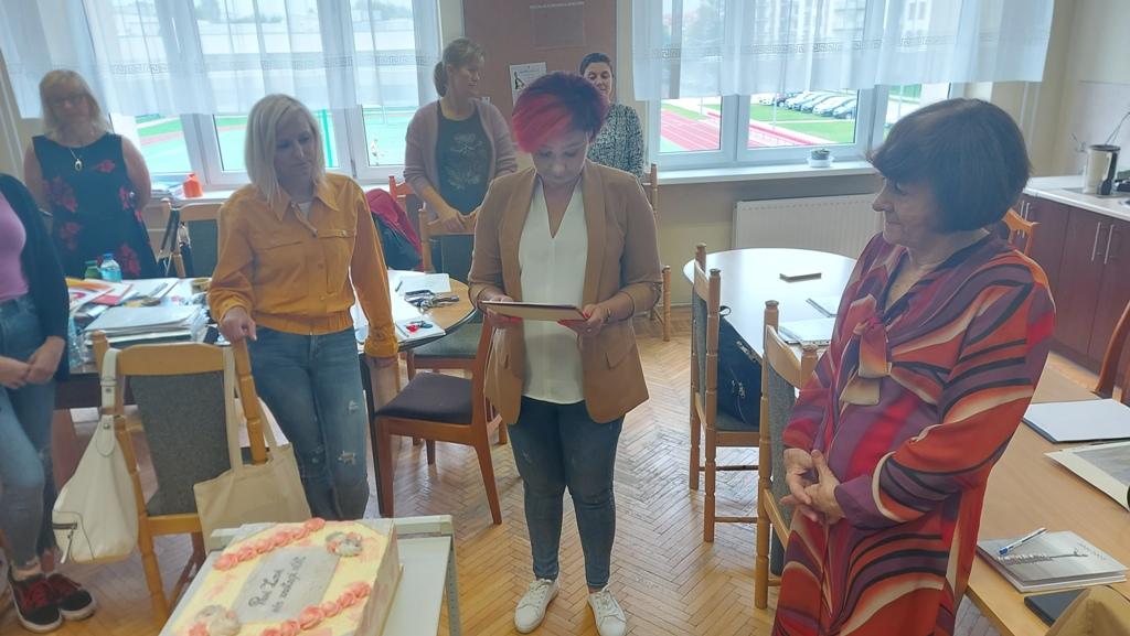 Zenobia Kondratiuk - wieloletni nauczyciel historii
